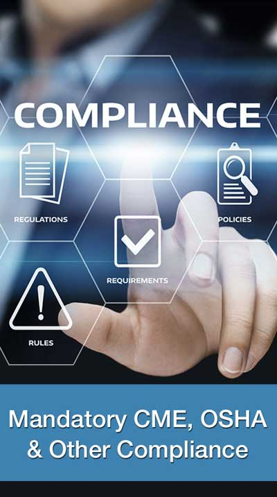 Mandatory CME, OSHA and Other Compliance link
